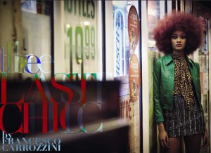 Editorials. Cheyenne Carty. Leila Nda. Riley Montana. Vogue Italia. Images by Francesco Carrozzini.