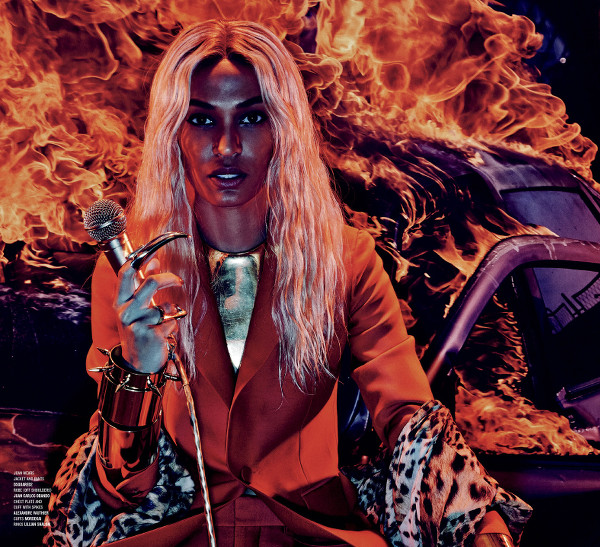 Joan Smalls, Black Fashion Models, V Magazine, Steven Klein