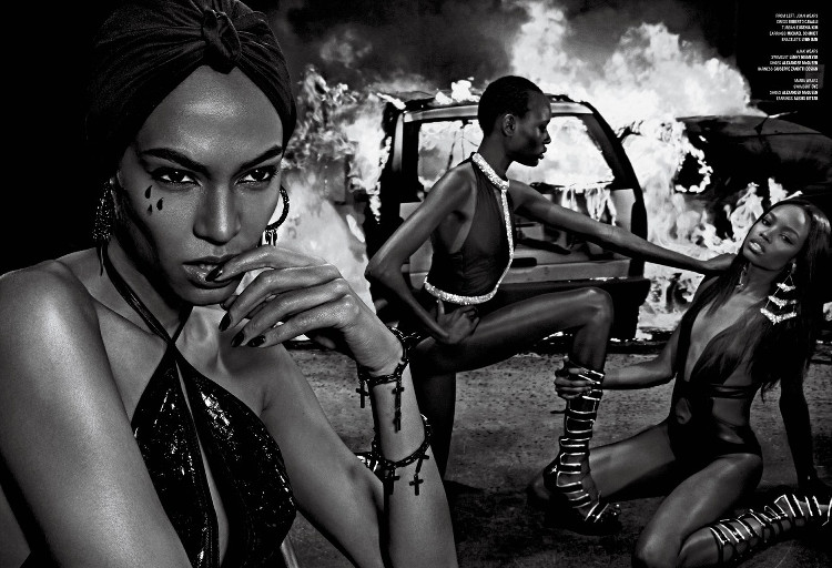 Joan Smalls, Riley Montana, Ajak Deng, Maria Borges, Black Fashion Models