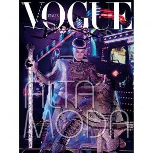 Editorials.  Joan Smalls. Vogue Italia Couture Supplement.  by Steven Klein.