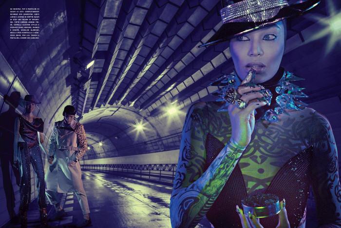 Joan Smalls, Black Fashion Models, Vogue Italia