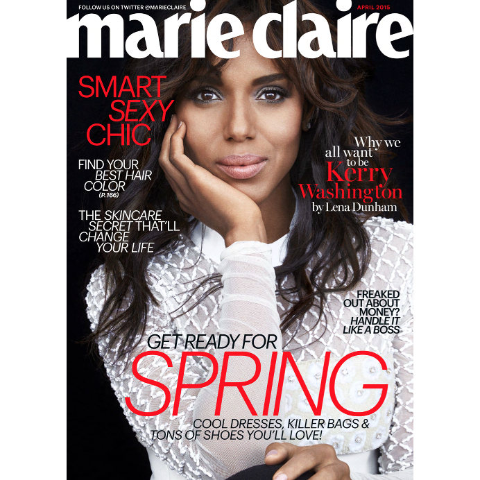 Kerry Washington Marie Claire TESH