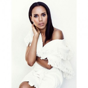 Editorials. Kerry Washington. The Edit. Images by Bjorn Iooss.