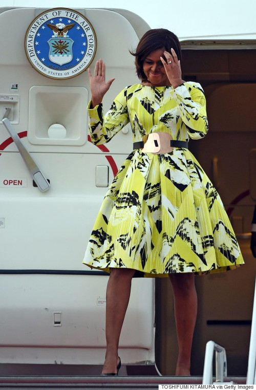 Michelle Obama Kenzo