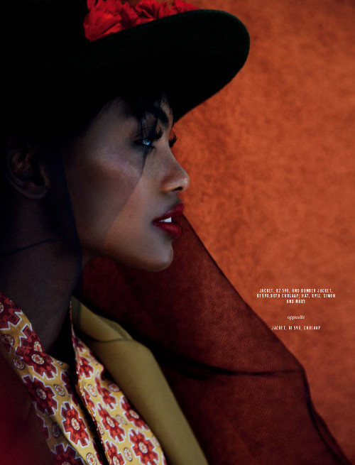 Milan Dixon Elle South Africa, Black Fashion Models