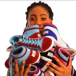 Mo'ne Davis Designs Sneaker to Help Impoverished Girls.