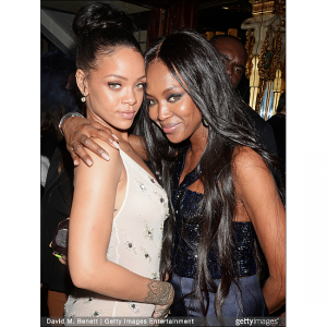 Naomi Campbell Denies Brawling With Cara Delevingne Over Rihanna.