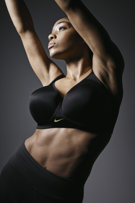 Shop This. The Nike Pro Hero Sports Bra. Available From Size 30C to Size 38E.
