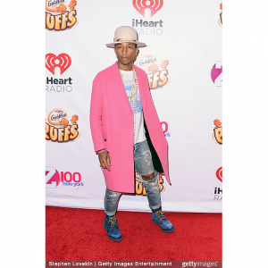 Pharrell Will Receive This Year's CFDA Fashion Icon Award.