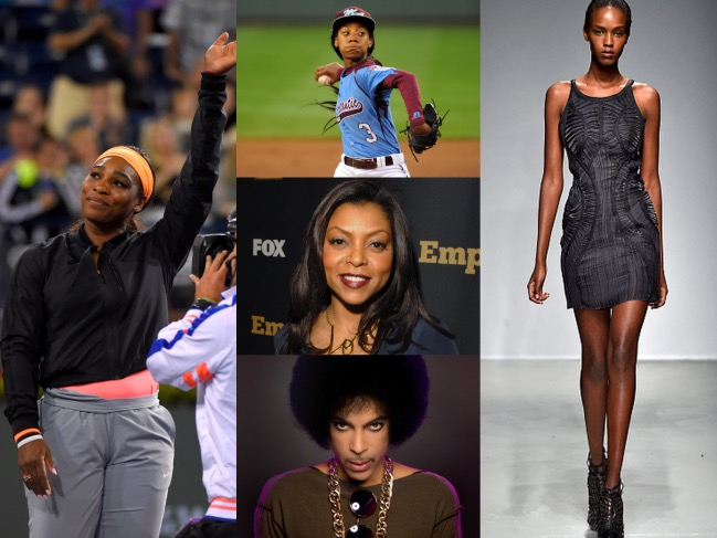 Serena Williams, Taraji P. Henson, mo'ne Davis