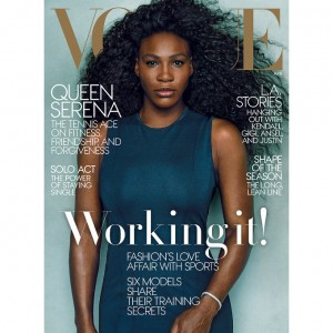 Serena Williams. 'Vogue' April 2015.
