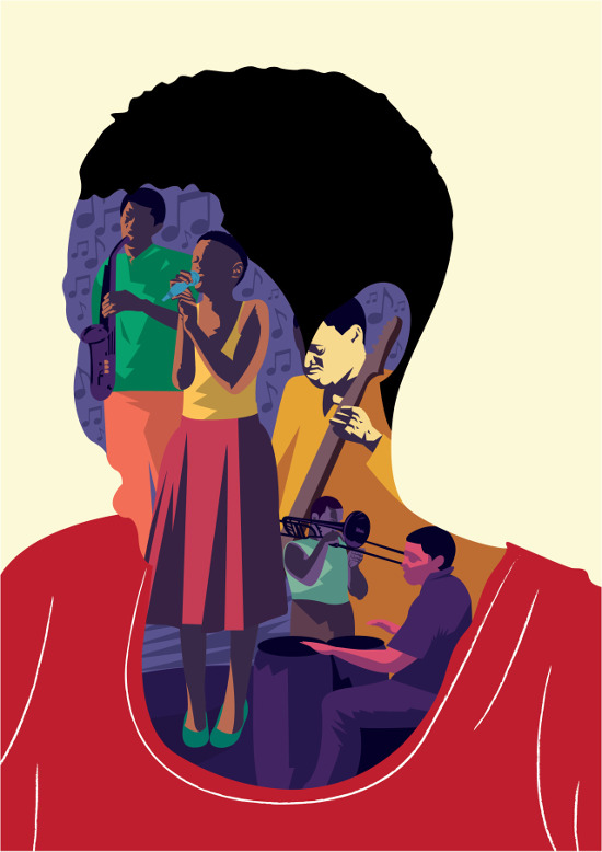 Art. Thandiwe Tshabalala. Illustrations of Life, Love, and Politics.