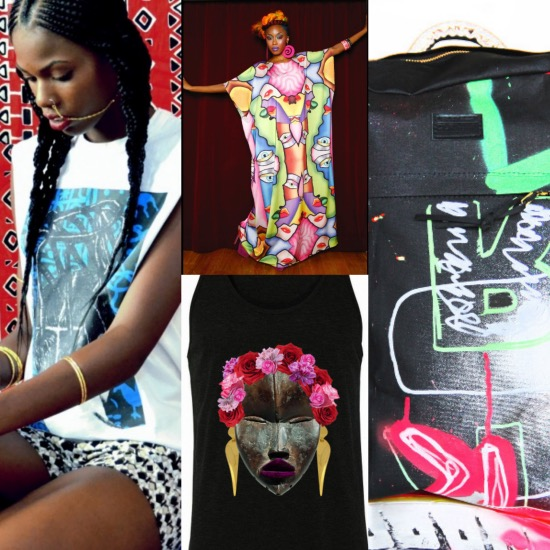 Wearable Art, Black Fashion Designers, Black Artists, Black Artist T-shirts