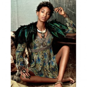 Editorials. Willow Smith. CR Fashion Book. Images by Lisa Eisner.