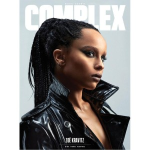 Zoë Kravitz Covers Complex.  Rocks Bondage Looks.