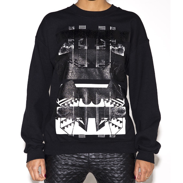 Abstract Rose Sweatshirt.