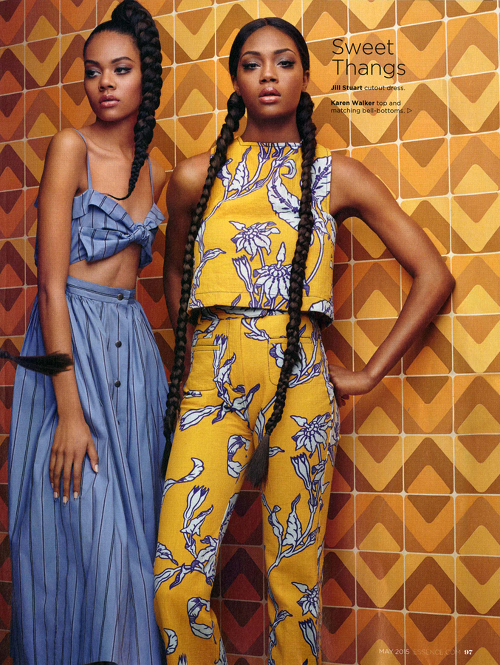 Editorials. Afiya Bennett. Essence Magazine May 2015. Images by Chris Nicholls.