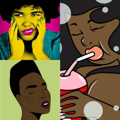Black Women Pop Art