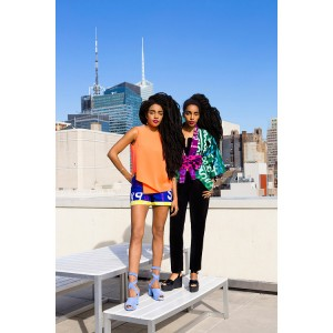 Cipriana Quann, TK Wonder, and Vashtie Sport Studio One Eighty Nine For Opening Ceremony.