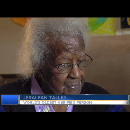 Meet Jeralean Talley. The World's Oldest Person.
