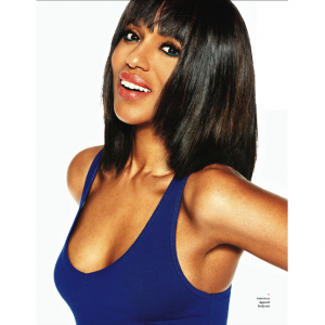 Editorials. Kerry Washington.  Ebony Magazine. Images by Christian Högstedt.