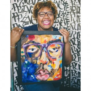 Artist LaNia Roberts Advocates For Self-Love.