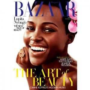 Editorials. Lupita Nyong'o. Harper's Bazaar UK.  Images by Alexi Lubomirski.