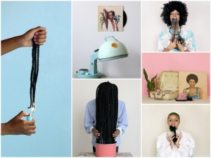Artist Nakeya Brown Features in Solo Exhibition in Brooklyn.