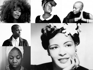 #TBT. Dedicated to Billie Holiday.  Angelique Kidjo, Laura Mvula, Mélissa Laveaux, Erykah Badu, and More Cover Billie Holiday.