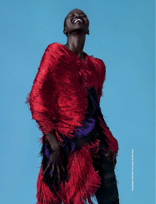 Editorials. Nykhor Paul. Elle South Africa May 2015. Images by KOPE | FIGGINS.