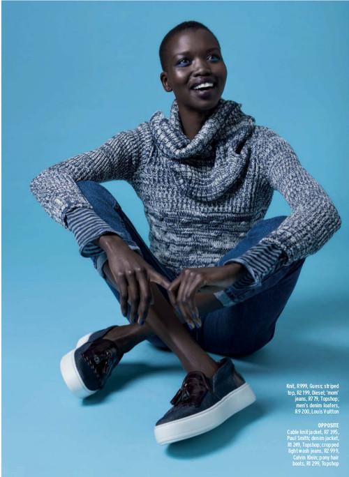 Nykhor Paul Black Fashion Models