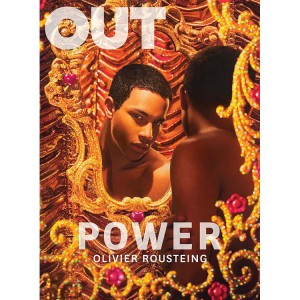 Balmain Creative Director Olivier Rousteing Covers OUT.