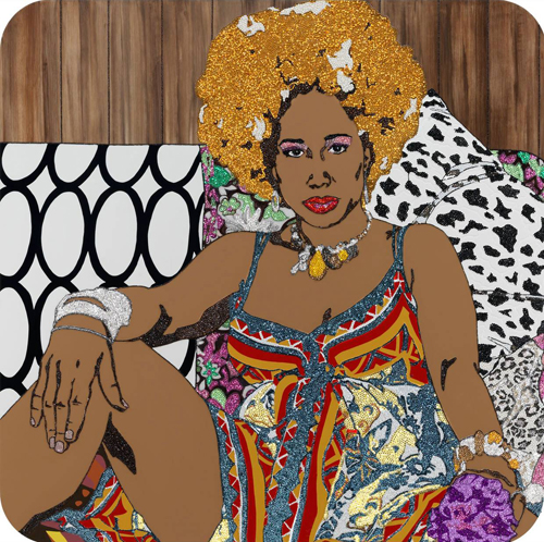 Mickalene Thomas Art