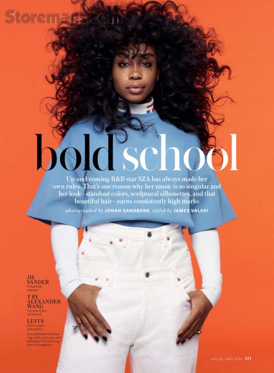 SZA Instyle Magazine