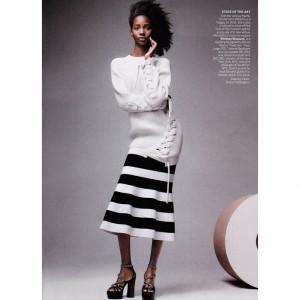 Editorials.  Tami Williams.  US. Vogue April 2015.  Images by Craig McDean.