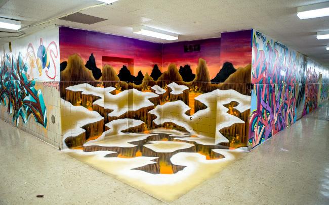 5 POINTZ, August Martin High School in Jamaica, Queens
