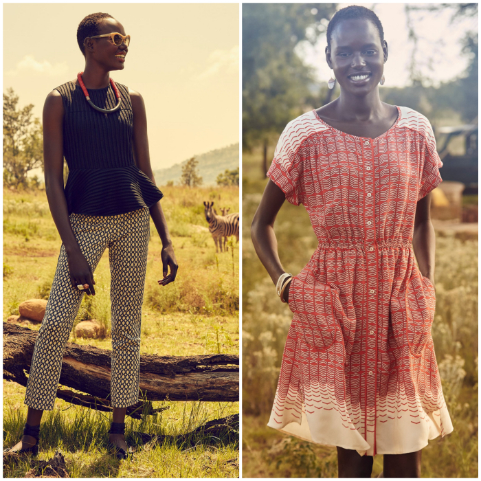 Ajak Deng Anthropologie May 2015
