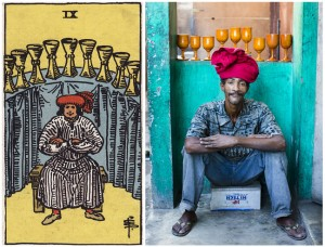 Art. 'The Ghetto Tarot.' Haitian Artist Collective Recreates Scenes From Classic Tarot Cards.
