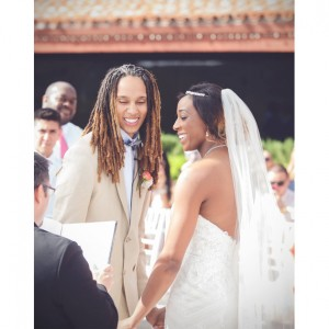 WNBA's Brittney Griner and Glory Johnson Tie the Knot.