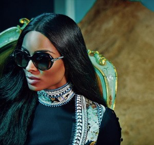 Ads.  Ciara is the New Face of Roberto Cavalli.