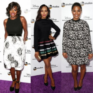 Viola Davis, Kerry Washington, Nia Long, and More Appear at the Disney Media Distribution International Upfronts.
