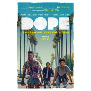 Pharrell Reveals First Poster for Indie Film 'Dope.'  + Watch The Trailer ICYMI.