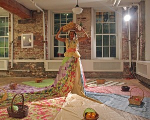 Jodie Lyn-Kee-Chow's Performance Art Creates A Whimsical Environment To Illustrate Harsh Reality.