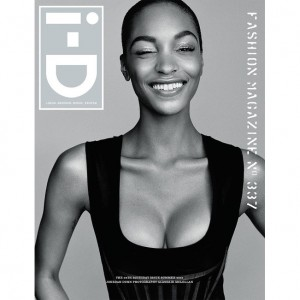 Jourdan Dunn and Karly Loyce Cover i-D Magazine's 35th Anniversary Issue.