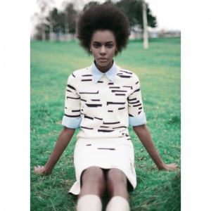 Editorials.  Karly Loyce in Jil Sander For Lurve Magazine. Images by Kin.  Styling by Raffaella Campeggi.