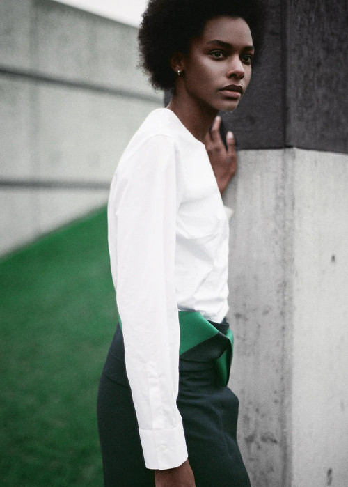 Karly Loyce Lurve Magazine Black Fashion Models