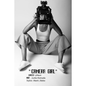 "Images. Lineisy Montero. ""Camera Girl."" Images by Joseph Degbadjo."