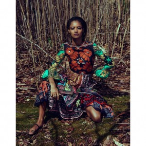 Editorials. Malaika Firth.  The Edit May 2015.  Images by Chris Colls.