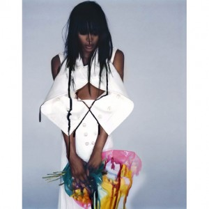 Editorial Throwback. Naomi Campbell. V Magazine 2007.  Images by Nicki Knight.