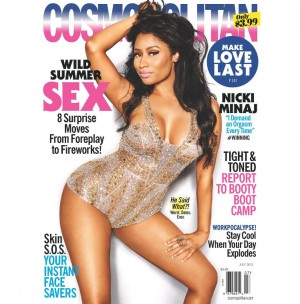 Nicki Minaj Covers Cosmopolitan.  Wants Women to Demand More Orgasms and Be More Open About Money.